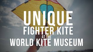 Unique Fighter Kite at the World Kite Museum