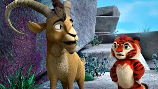 Лео и Тиг сборник серий с 28 по 30 Детям про животных Мультфильм HD