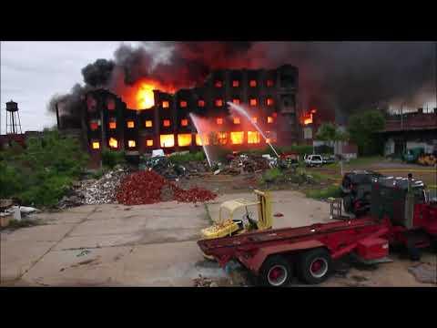 5-18-18, 21st & Lippincott Sts, Philadelphia, PA, 5 Alarm Warehouse Fire