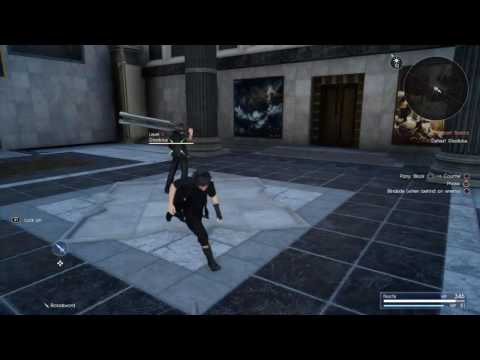 FINAL FANTASY XV Combat Tutorial: Parrying and Counter