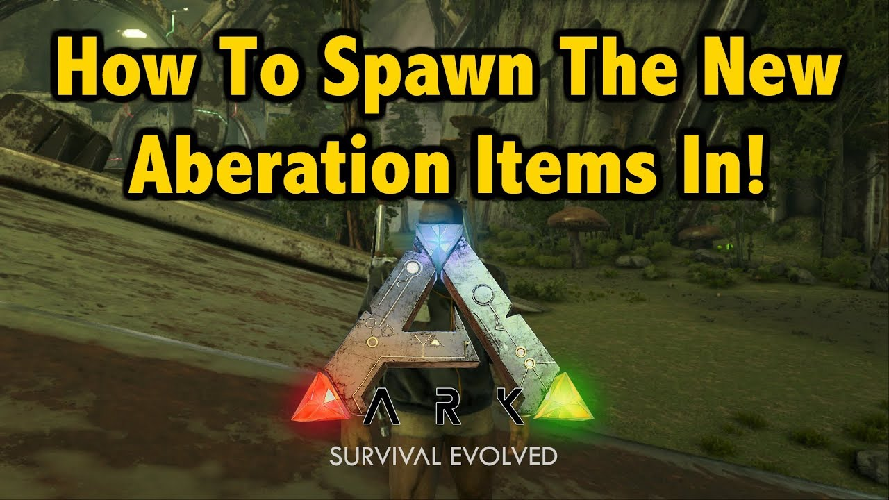 How to spawn all aberration items in ark survival evolved youtube how to spawn all aberration items in ark survival evolved malvernweather Gallery
