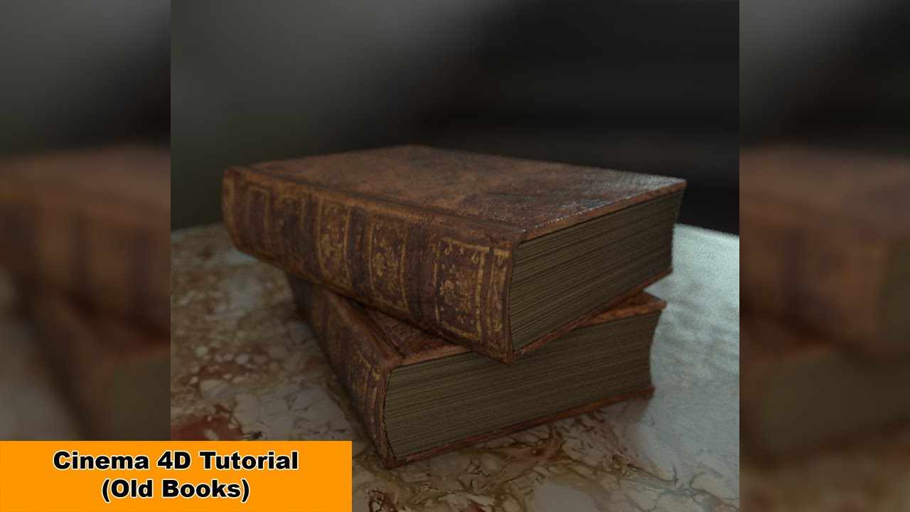 Old Books Cinema 4D Tutorial