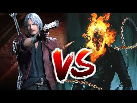 Ghost Rider Vs Dante / Who Will Win / In Hindi