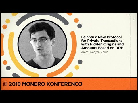 MoneroKon 2019 - Lelantus: New Protocol For Private Transactions With Hidden Origins And Amounts