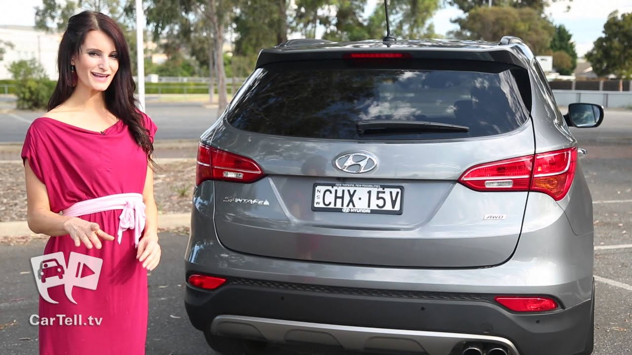 Delightful Hyundai Santa Fe 2013   Review   YouTube