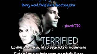 Terrified - Katharine McPhee & Zachary Levi [Español & Inglés]