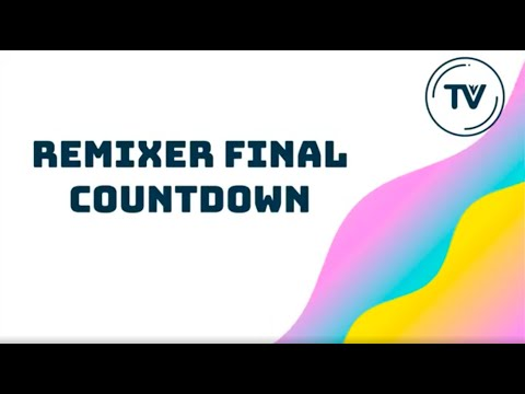 Confiremix #4 The Final countdown - Tech house remix