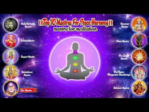Top 10 Meditation Mantras  - for Success - Peace and Harmony - Hindi Devotional  | Bhajan India