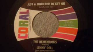 Demensions - Just A Shoulder To Cry On - Rare Doo Wop Ballad
