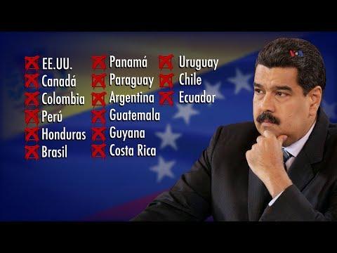 ¿Quién apoya a Nicolás Maduro?