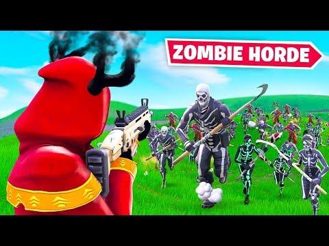 ZOMBIE HORDE *NEW* Fortnite Custom Gamemode!