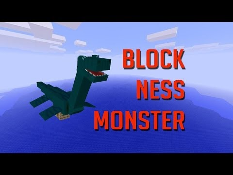 LOCH NESS MONSTER in MINECRAFT!! (The Axe Files #2)