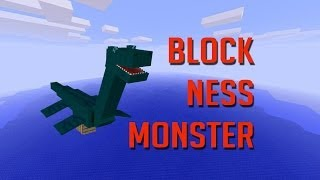 LOCH NESS MONSTER in MINECRAFT!!
