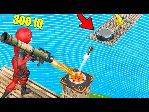 1000 IQ SHOT Vs 0 IQ In Fortnite BEST FAILS & Epic Wins!