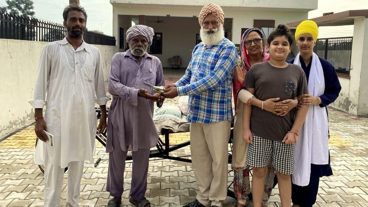 Donated 50,000 To Rikshawala | Punjabi Vlogger