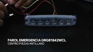 FAROL EMERGENCIA GRG81842WCL