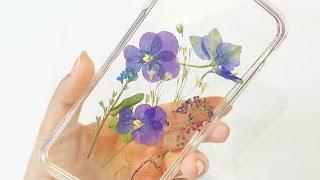 DIY Floral iPhone Case