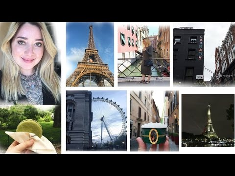 Europe Travel Vlog   London, Amsterdam, Paris, Barcelona, Rome, Venice