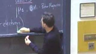 Lec 31 | MIT 5.112 Principles of Chemical Science, Fall 2005