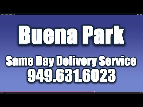 Buena Park Courier and Messenger Service