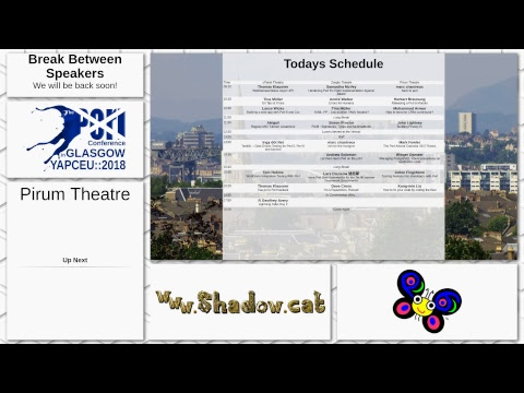 The Perl Conference in Glasgow - Day 2 - Pirum Theatre
