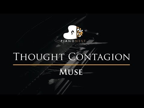 Muse - Thought Contagion - Piano Karaoke / Sing Along / Cover With Lyrics