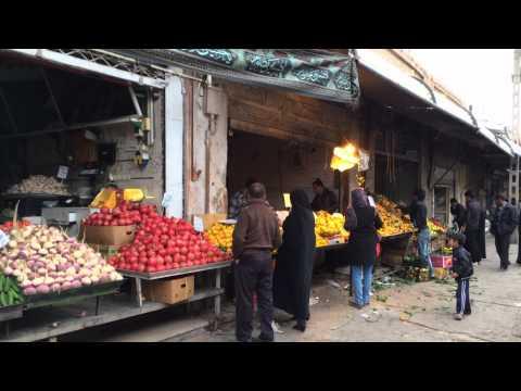 ► Bazar-e Sartasari of Kerman Iran