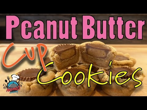 How To Make Peanut Butter Cup Cookies! Nana's Favorite Holiday Cookeis