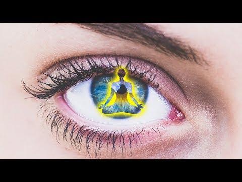 528 Hz Music for the Eyes Vision: 10'000 Hz Being Regeneration   Tibetan Bowls Slow Drum Water Sound