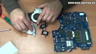 видео Где ноутбук очистят от пыли