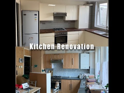 Kitchen Renovation | How to renovate a kitchen | DIY Kitchen Makeover | Before After