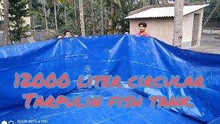 BIOFLOC Tarpaulin | 2800 Gsm | No support | High Quality