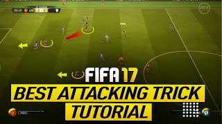 Fifa 17 the secret of scoring goals in ultimate team - how to attack with special through balls