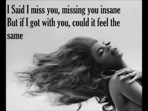 I miss youBeyonce lyrics
