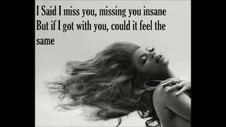 I miss you-Beyonce lyrics