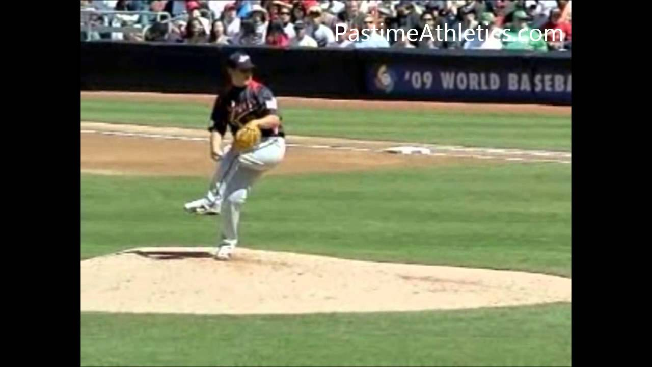 Slow Motion Baseball Swing >> Daisuke Matsuzaka Pitching Mechanics Gyroball Slow Motion Baseball Analysis Instruction MLB ...