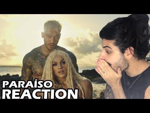 Lucas Lucco e Pabllo Vittar - Paraíso REACTION  Reação e comentários