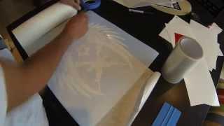 vinyl decal cutting start to finish