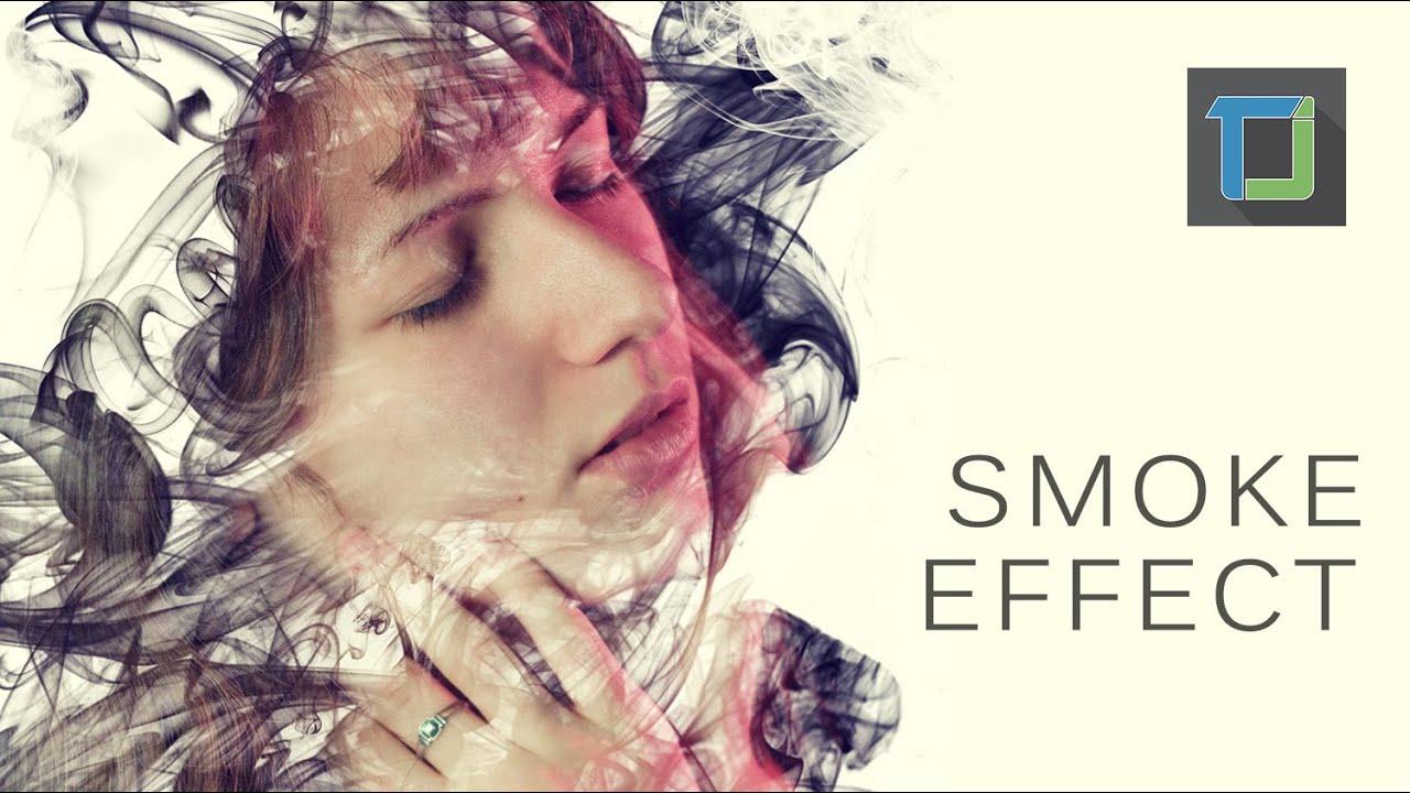 Smoke dispersion effect | photoshop tutorials cs6 - YouTube