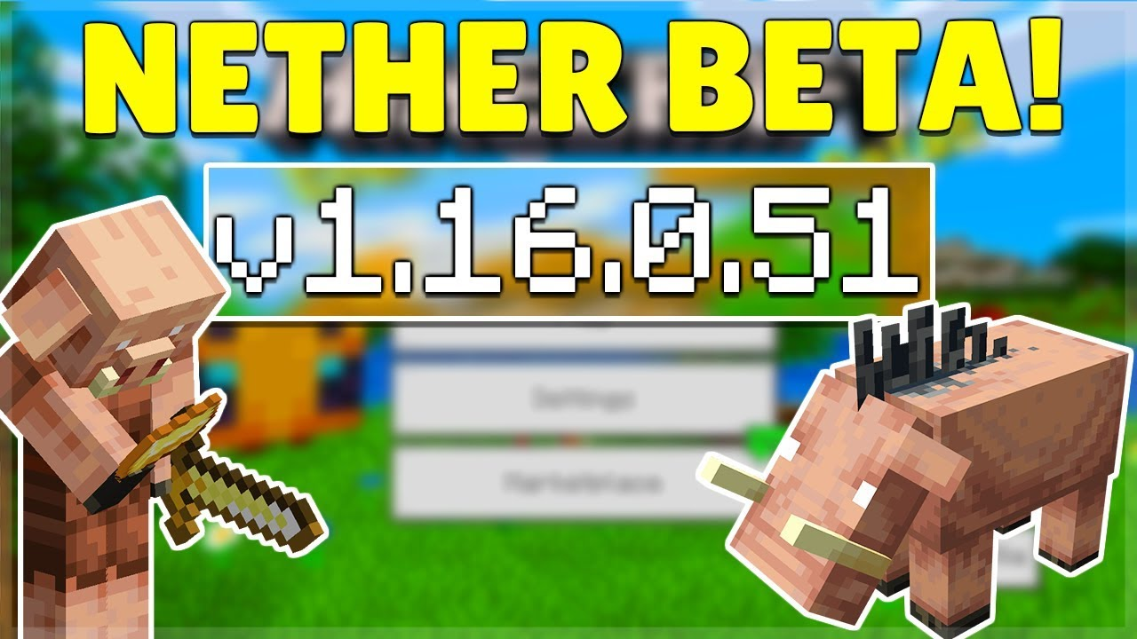 MCPE 12.126.12.122 BETA NETHER UPDATE! Minecraft Pocket Edition Nether Update &  Parity Changes