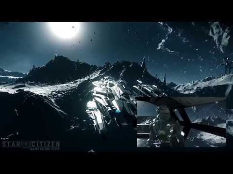 2017 Star Citizen Gamescom Demo - No Dialogue or Bugs (45min)