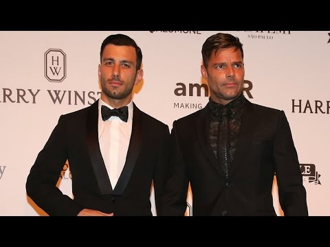 Ricky Martin and His Hot New Boyfriend Make Their Red Carpet Debut