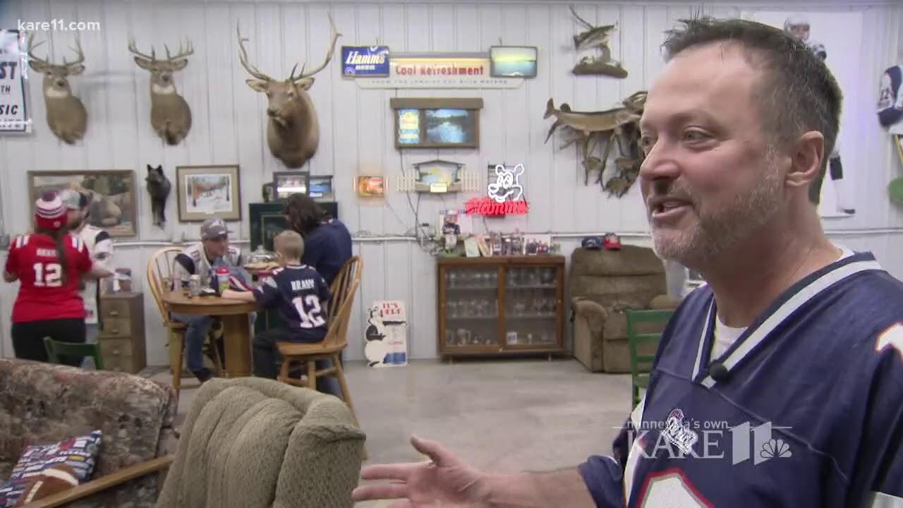 Tom Brady's Minnesota family celebrates his win