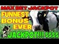 AMAZING SLOT JACKPOT! ★ MOST EXCITING BONUS EVER! ★ MAX BET HUGE WIN