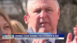 Sen. Amanda Chase will run for Virginia governor