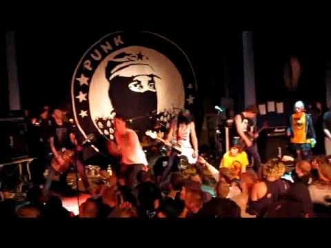 From Ashes Rise - Reaction + The Widow @ Punk Illegal Fest 2010