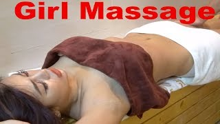 Oil Massage Relaxing Muscle to Relieving Stress Natural #002