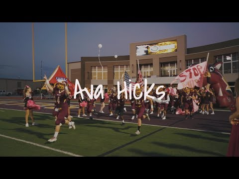 Ava Hicks Lake Hamilton Homecoming Film - 2017