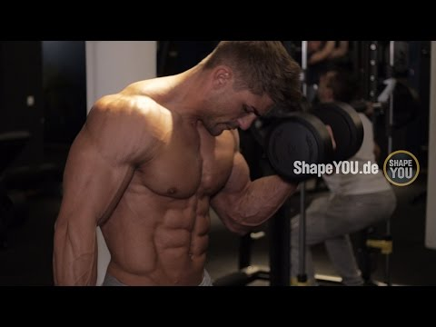 Ryan Terry Arms & Abs Workout - Day 3 HEART OF A CHAMPION w/ Felix Valentino