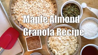 Gluten-free Maple Almond Granola